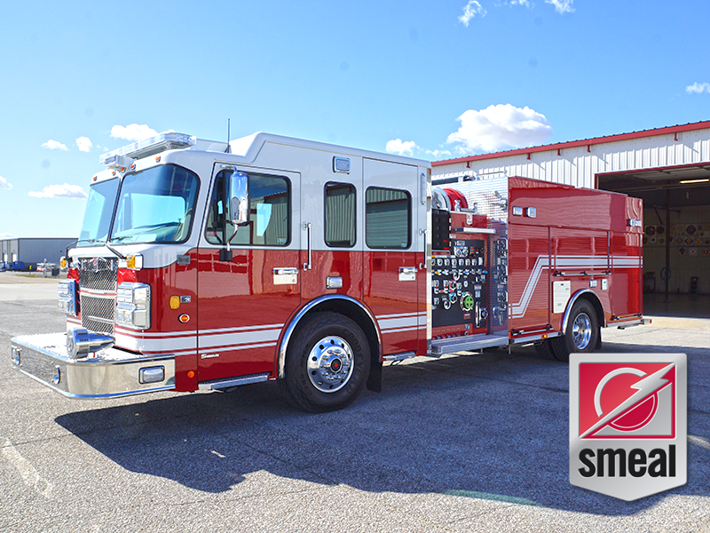 New 2019 Smeal Pumper Demo - Available!